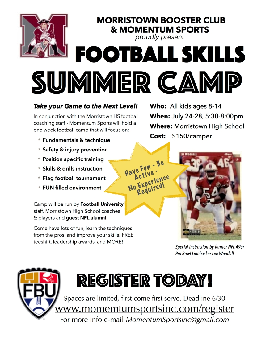 football camp flyer 08-2017